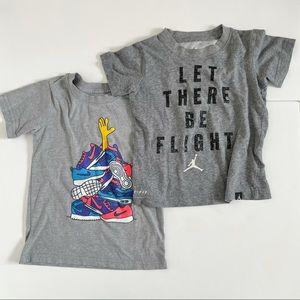 Nike & Jordan Short Sleeve Shirts (2)